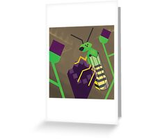 Agapostemonagon Greeting Card
