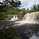 Cox's Cove Falls II by Stephen Rowsell