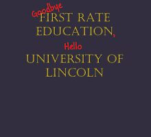 First Rate Education - Lincoln University Unisex T-Shirt