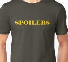 'Spoilers' Unisex T-Shirt
