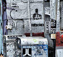 Broome Street Garbage by joan warburton