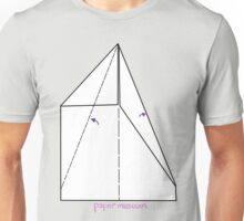 Paper Museum - Folded Airplane Unisex T-Shirt