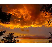 St. Lawrence River Sunset Photographic Print