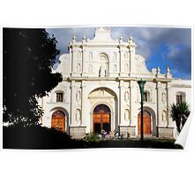 Antigua Cathedral Poster