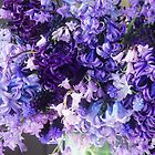 March Heirloom Blues #3 Bouquet by Suzanne Lewis