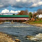 West Swanzey Covered Bridge by Monica M. Scanlan