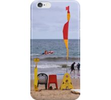 Life Saver's Chair iPhone Case/Skin