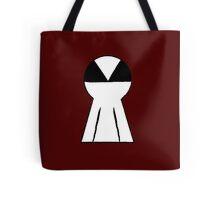 Keyhole Skull Tote Bag