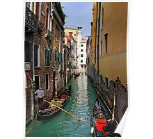 Rio dell' Alboro, San Marco, Venice Poster