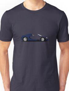 2013 Bugatti Veyron 16.4 Grand Sport Vitesse Bugatti Legend Jean-Pierre Wimille Unisex T-Shirt