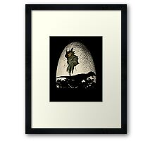 A nightmare is born. Framed Print