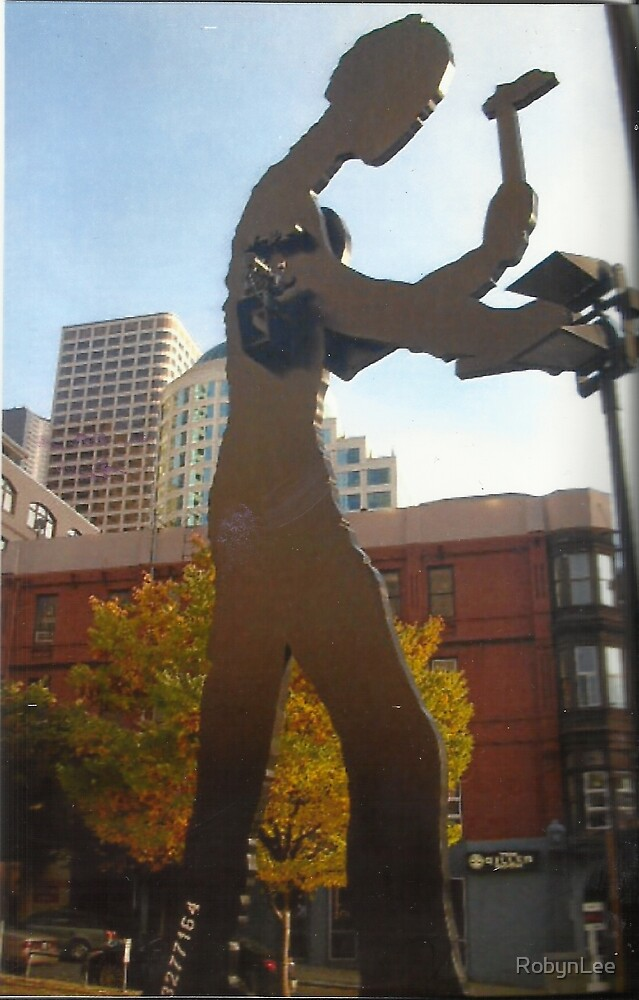 Big Man In Seattle by RobynLee