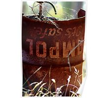 Oil Can Poster