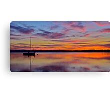 Peaceful Afternoon. Canvas Print