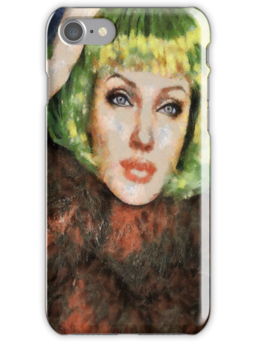 Jolie iPhone Case by leapdaybride