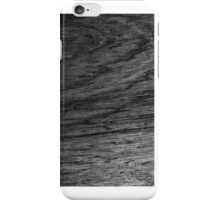 iphone case - black wood surface iPhone Case/Skin