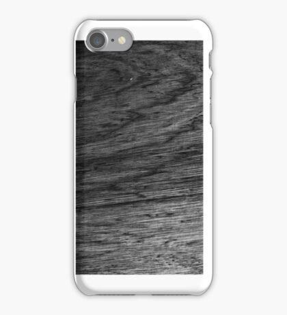 iphone case - black wood surface iPhone Case/Skin