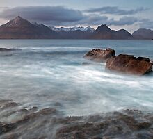 Distant Cullins, Elgol, Isle of Skye- Highlands by Trevor King