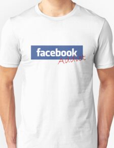 'facebook Addict' T-Shirt