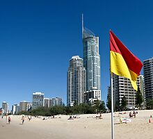 Surfers Paradise by Russell Charters
