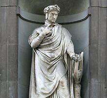 Statue of Dante Allighieri by Rob Chiarolli