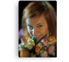 Classic portrait . Wedding Photography . by Brown Sugar . Views (259) thx! Canvas Print