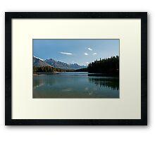 Johnson Lake Framed Print