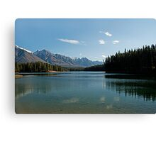 Johnson Lake Canvas Print