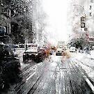 Snow in New York 2 by DARREL NEAVES
