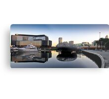 Docklands Reflections Metal Print