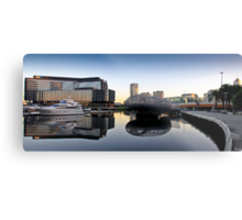 Docklands Reflections Metal Print