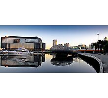 Docklands Reflections Photographic Print