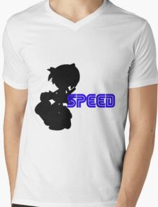 Speed type: Amy Mens V-Neck T-Shirt