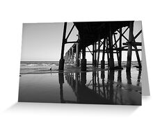 Catherine Hill Bay Greeting Card