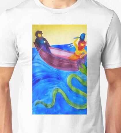 Thor and Hymir go Fishing Unisex T-Shirt
