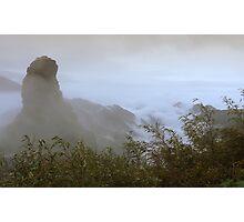 Mysterious Fan Jing Mountain Photographic Print