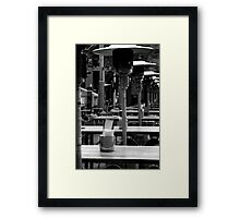 Before Lunch Framed Print