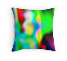Artistic in the blur 2 Throw Pillow