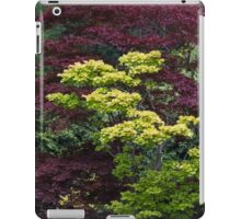 tree in the garden iPad Case/Skin