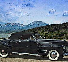 1941 Cadillac  Convertible Coupe by TeeMack