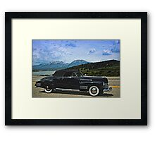 1941 Cadillac  Convertible Coupe Framed Print