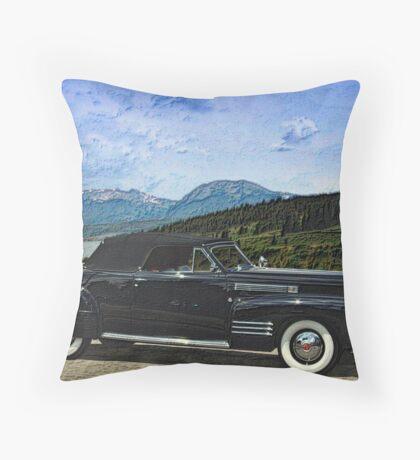 1941 Cadillac  Convertible Coupe Throw Pillow