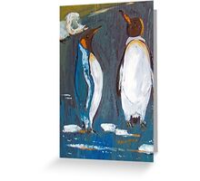 King Penguins Australia Greeting Card