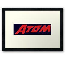 The Atom Framed Print