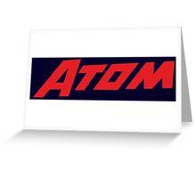 The Atom Greeting Card