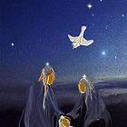 The Nativity'... by Valerie Anne Kelly