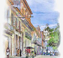 Calle de la Habana Vieja by guillermobello
