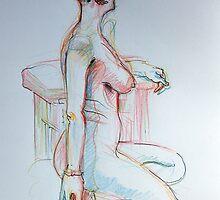 Emma 20 min sketch  by Karin Zeller