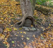 Fairy Door Frick Park by Imagery