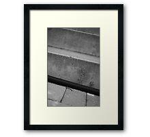 A simple life Framed Print